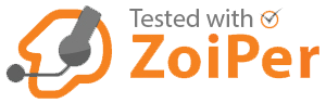 Tested with Zoiper